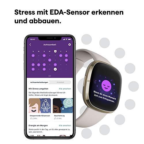 Uhr mit EKG und Schlafdaten: Die Fitbit Sense - 3