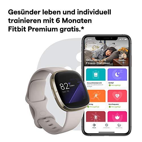 Uhr mit EKG und Schlafdaten: Die Fitbit Sense - 6