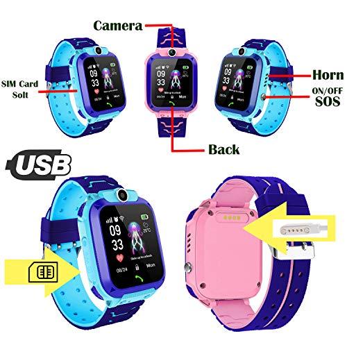 PTHTECHUS Kinder Smartwatch - 7