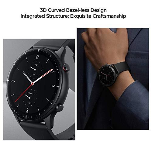 Amazfit GTR 2 Smartwatch mit Bluetooth-Anruf, Sportuhr mit 90 Sportmodi, Fitness Tracker mit Blutsauerstoffsättigungsmesser, 3GB Musikspeicher für Herren Damen - 8