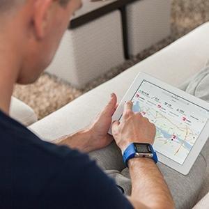 polar trainingcomputer v800 mit brustgurt sportuhr. Black Bedroom Furniture Sets. Home Design Ideas