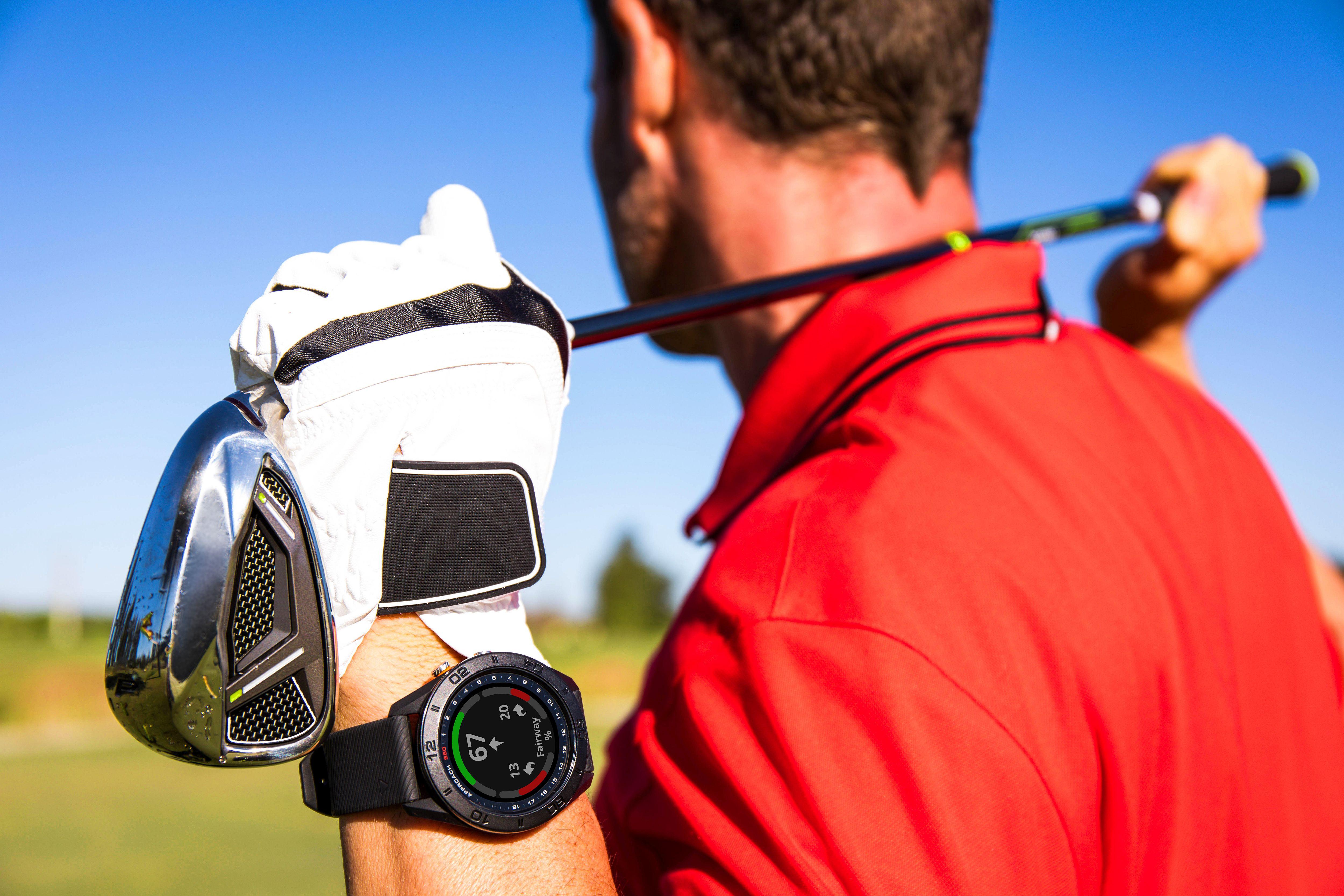 Sportuhren für Golfer Logo